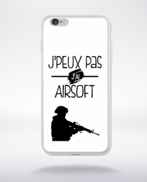 Coque j'peux pas j'ai airsoft 2 compatible iphone 6 transparent