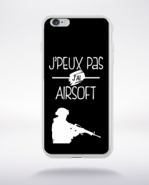 Coque j'peux pas j'ai airsoft 1 compatible iphone 6 transparent