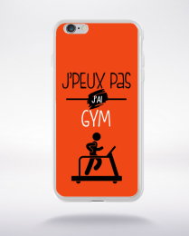 Coque j'peux pas j'ai gym 8 compatible iphone 6 transparent