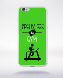 Coque j'peux pas j'ai gym 9 compatible iphone 6 transparent