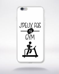 Coque j'peux pas j'ai gym 2 compatible iphone 6 transparent