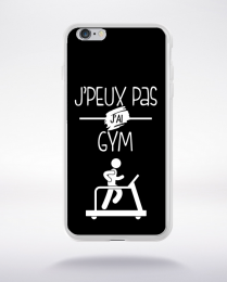 Coque j'peux pas j'ai gym 1 compatible iphone 6 transparent