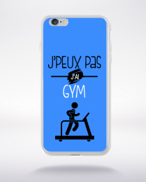Coque j'peux pas j'ai gym 10 compatible iphone 6 transparent
