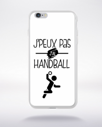Coque j'peux pas j'ai handball 10 compatible iphone 6 transparent