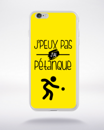 Coque j'peux pas j'ai pétanque 3 compatible iphone 6 transparent