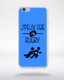 Coque j'peux pas j'ai rugby 10 compatible iphone 6 transparent