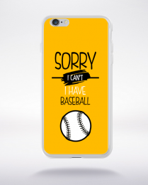 Coque sorry i can't i have baseball 3 compatible iphone 6 transparent