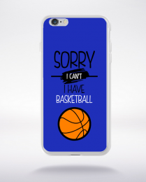 Coque sorry i can't i have basketball 1 compatible iphone 6 transparent