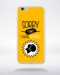 Coque sorry i can't i have boxing 4 compatible iphone 6 transparent