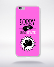 Coque sorry i can't i have boxing 7 compatible iphone 6 transparent