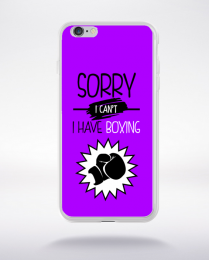 Coque sorry i can't i have boxing 6 compatible iphone 6 transparent