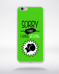 Coque sorry i can't i have boxing 9 compatible iphone 6 transparent