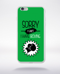 Coque sorry i can't i have boxing 3 compatible iphone 6 transparent