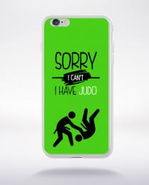 Coque sorry i can't i have judo 9 compatible iphone 6 transparent