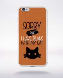 Coque sorry i can't i have plans with my cat 6 compatible iphone 6 transparent
