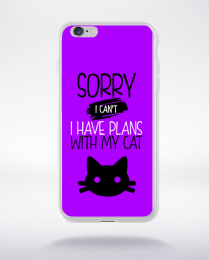 Coque sorry i can't i have plans with my cat 5 compatible iphone 6 transparent