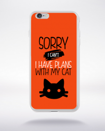 Coque sorry i can't i have plans with my cat 8 compatible iphone 6 transparent