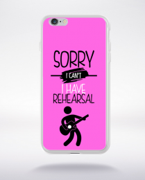 Coque sorry i can't i have rehearsal 7 compatible iphone 6 transparent