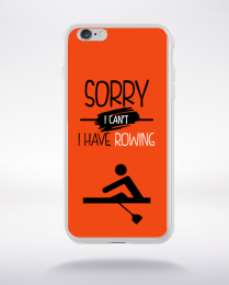 Coque sorry i can't i have rowing 8 compatible iphone 6 transparent