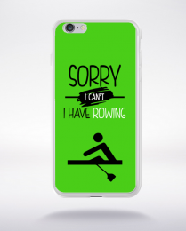 Coque sorry i can't i have rowing 9 compatible iphone 6 transparent
