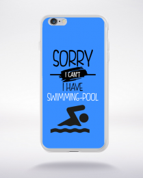 Coque sorry i can't i have swimming pool 10 compatible iphone 6 transparent