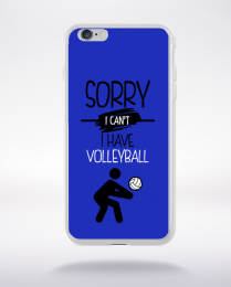 Coque sorry i can't i have volleyball 1 compatible iphone 6 transparent