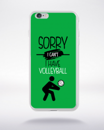 Coque sorry i can't i have volleyball 2 compatible iphone 6 transparent