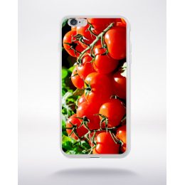 Coque les tomates de l'île de ré compatible iphone 6 transparent