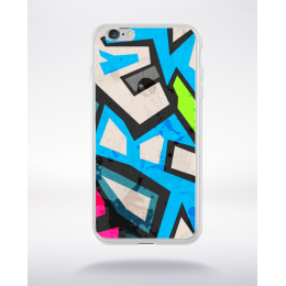 Coque graffiti abstrait 11 compatible iphone 6 transparent