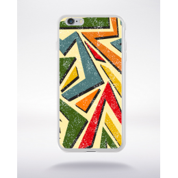 Coque graffiti abstrait 8 compatible iphone 6 transparent