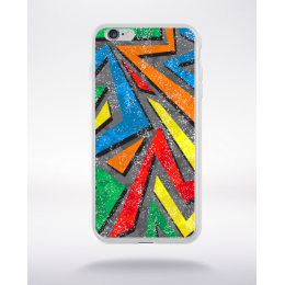 Coque graffiti abstrait 7 compatible iphone 6 transparent