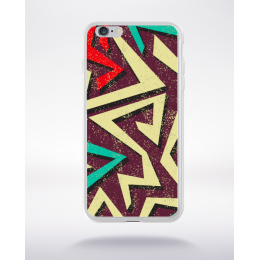 Coque graffiti abstrait 5 compatible iphone 6 transparent