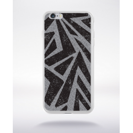 Coque graffiti abstrait  4 compatible iphone 6 transparent