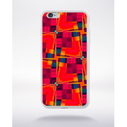 Coque graffiti abstrait 2 compatible iphone 6 transparent