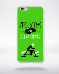 Coque j'peux pas j'ai aqua biking 4 compatible iphone 6 transparent
