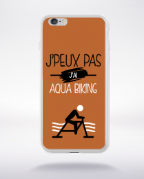 Coque j'peux pas j'ai aqua biking 7 compatible iphone 6 transparent