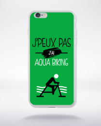 Coque j'peux pas j'ai aqua biking 11 compatible iphone 6 transparent