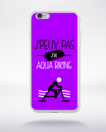 Coque j'peux pas j'ai aqua biking 8 compatible iphone 6 transparent
