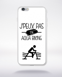 Coque j'peux pas j'ai aqua biking 1 compatible iphone 6 transparent
