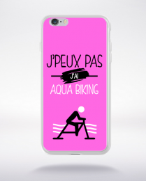 Coque j'peux pas j'ai aqua biking 6 compatible iphone 6 transparent