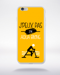 Coque j'peux pas j'ai aqua biking 10 compatible iphone 6 transparent