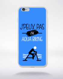 Coque j'peux pas j'ai aqua biking 3 compatible iphone 6 transparent