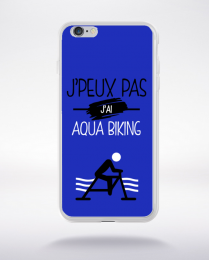 Coque j'peux pas j'ai aqua biking 12 compatible iphone 6 transparent