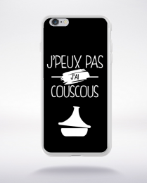Coque j'peux pas j'ai couscous 2 compatible iphone 6 transparent
