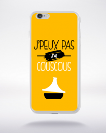Coque j'peux pas j'ai couscous 10 compatible iphone 6 transparent