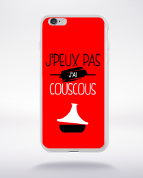 Coque j'peux pas j'ai couscous 9 compatible iphone 6 transparent