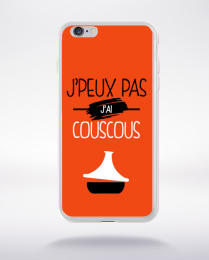 Coque j'peux pas j'ai couscous 5 compatible iphone 6 transparent
