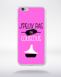 Coque j'peux pas j'ai couscous 6 compatible iphone 6 transparent