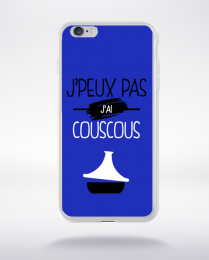 Coque j'peux pas j'ai couscous 12 compatible iphone 6 transparent