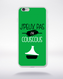 Coque j'peux pas j'ai couscous 11 compatible iphone 6 transparent